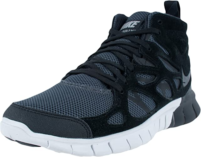 Nike Free Run 2 Baskets Montantes NoirSummit Blanc 616744