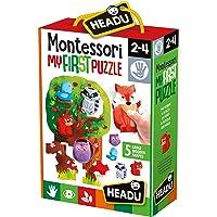 Headu it20133.–.mi Primer Puzzle-Juego Infantil Educativo Montessori-Conoce el
