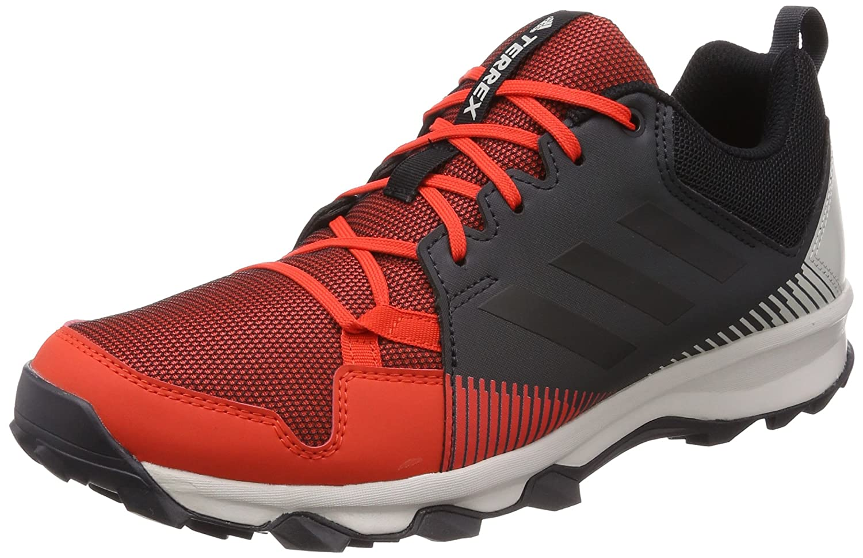 Adidas Terrex Tracerocker, Zapatillas de Senderismo para Hombre 41 1/3 EU|Rojo (Roalre / Negbas / Carbon 000)