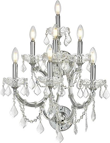 Elegant Lighting 2800W7C/RC Royal Cut Crystal