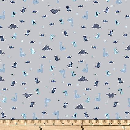 7111bbcb5ce Amazon.com: Stof Fabrics of Denmark Avalana Jersey Knit Dino Fabric ...