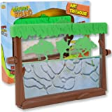 Nature Bound Ant Treehouse Habitat Kit with Sand, Connector Tube, Feeding Stick & Insect Instructions, One Size