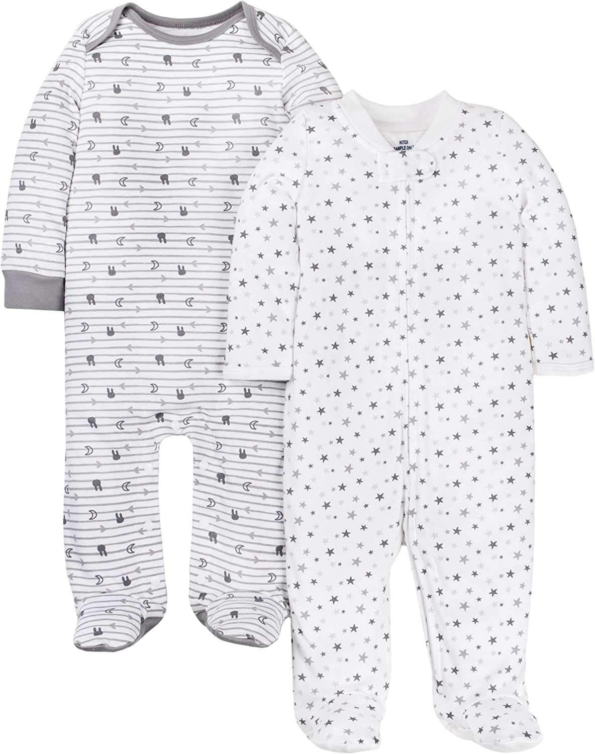 LAMAZE Organic Baby Girls Baby Organic 2 Pack Sleep N Play