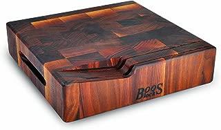 "product image for John Boos 12x12x3"" Walnut End Grain Chopping Block"