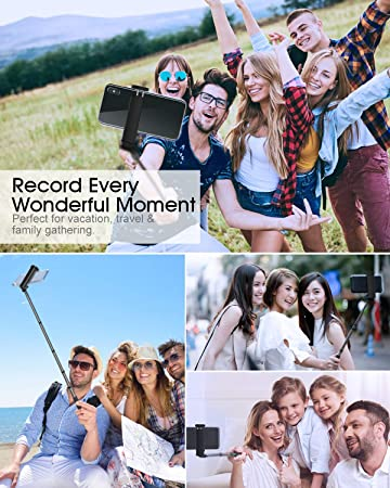 Amazon.com: ELEGIANT Selfie Stick Bluetooth, Extendable ...