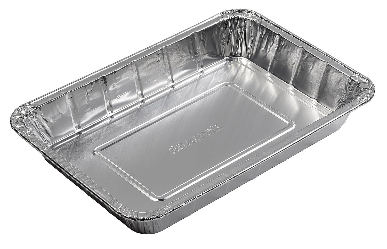 Dancook 120 146 - Lèchefrites ou plateaux de cuisson en aluminium, grande taille (10 plateaux par lot).