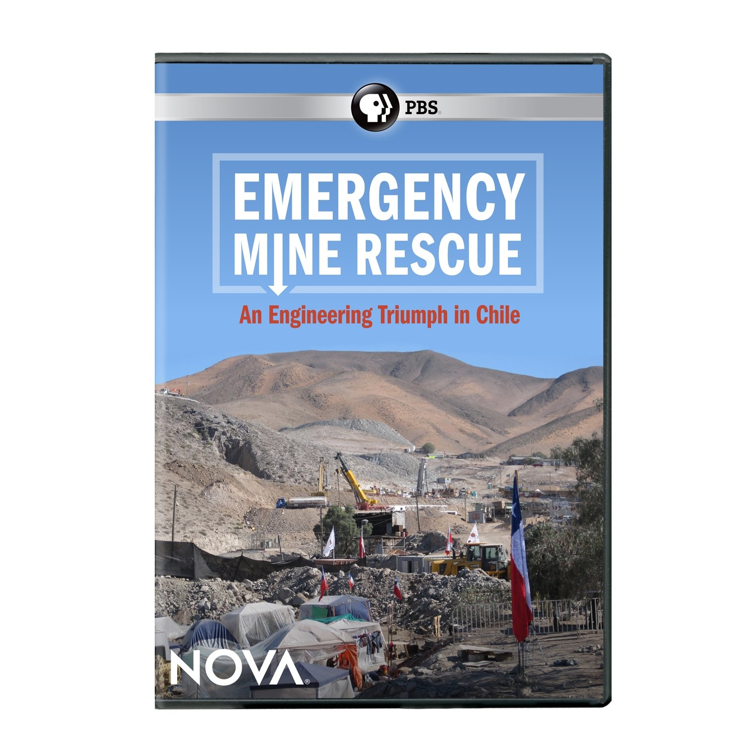 DVD : Nova: Emergency Mine Rescue (DVD)