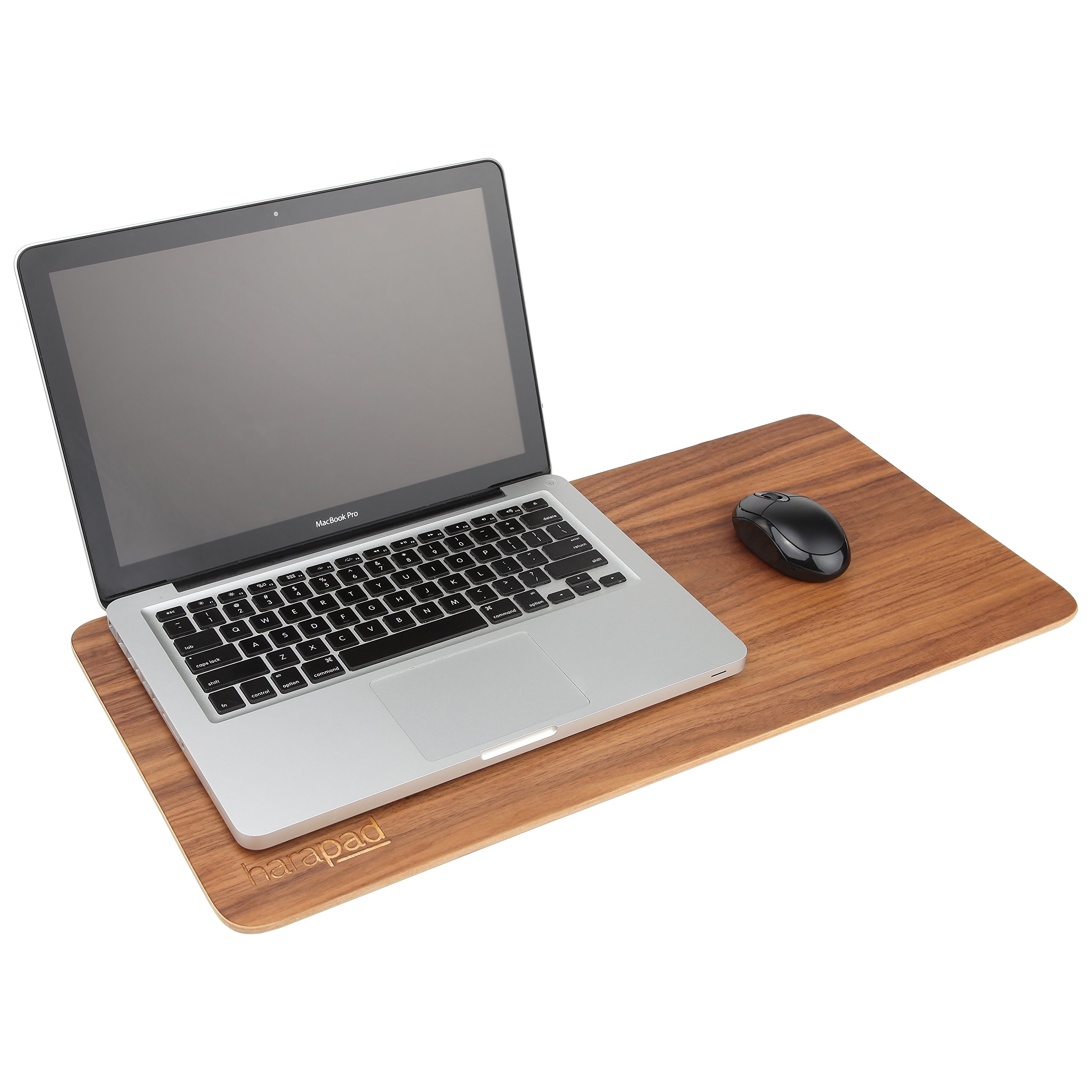 Laptop EMF Pad Providing EMF and Radiation Protection. Real Wood EMF Lapdesk by HARApad