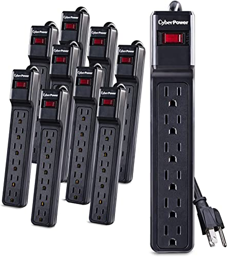 CyberPower CSB6012MP10 Essential Surge Protector