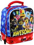 Lego Movie 2 The Second Part Boys Soft Dual Compartment School Lunch Box (One Size. Blue/Multi)