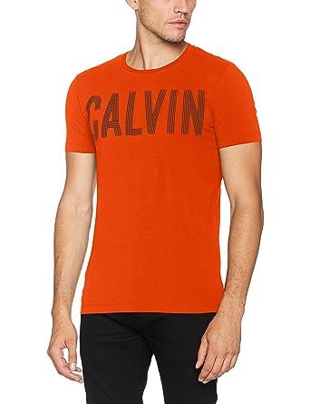Calvin Klein Tyrus Slimfit CN Tee, Pull sans Manche Homme, (Bright White), X-Large