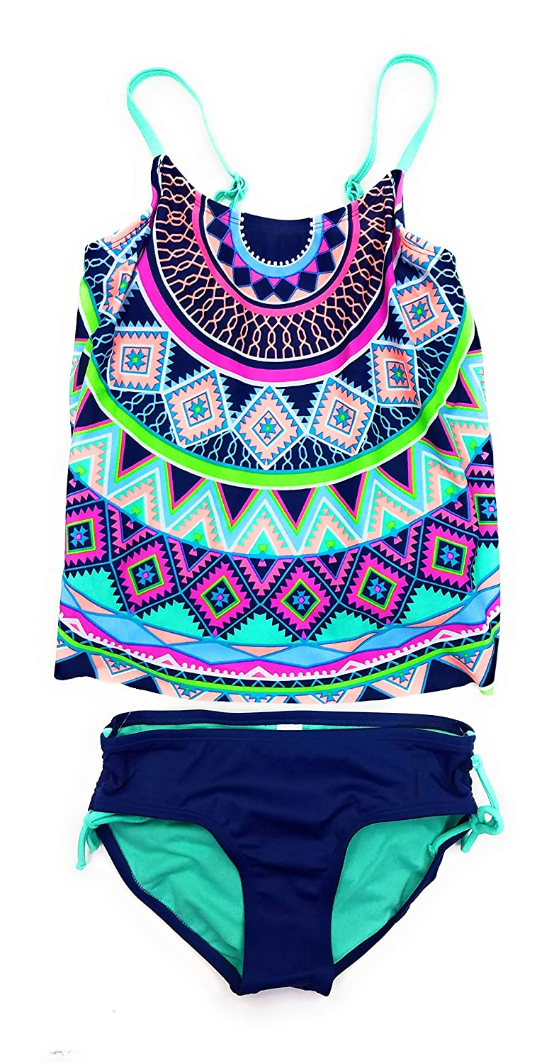 2c354b9a4f Justice Big Girls' Swimsuits Tankini Bathing Suits Mult Sizes Colors ...
