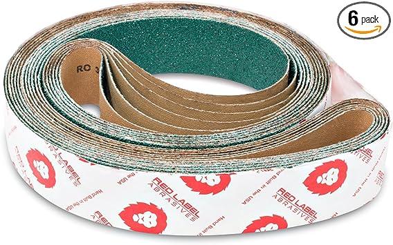 6 Pack 40 Grit Sanding Belts 2 X 72 Zirconia Cloth Sander Belts