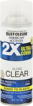 Rust-Oleum 327864 American Accents Ultra Cover 2X, Gloss Clear