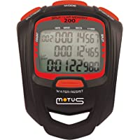 Sport-stopwatch met 200 interval-trainingsinterval en 1/1000 seconde resolutie