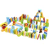 Fat Brain Toys Zoo-Ominoes Wooden Toys for Ages 3 to 4