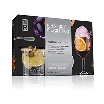 GIN & Tonic R-Evolution Molekularküche Kit Mixology Set by Molecule ...