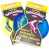 Aerobie Dogobie Disc Outdoor Flying Disc for Dogs - Colors May Vary