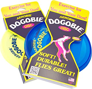 product image for Aerobie Dogobie Disc Outdoor Flying Disc for Dogs - Colors May Vary