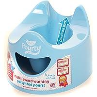 Pourty 30101 - Kindertöpfchen, nicht tropfend, hellblau