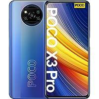 جوال شاومي بوكو اكس 3 برو، ثنائي شرائح الاتصال، ذاكرة داخلية 128GB، ذاكرة 6GB RAM، تقنية 4G LTE، فروست بلو
