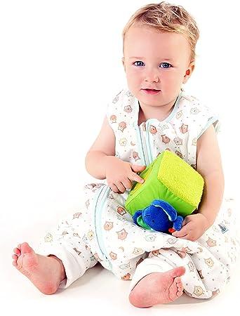 Sacco Nanna con Piedini Leggero Slumbersac per Bambino circa 0.5 Tog 3-4 anni Gufi