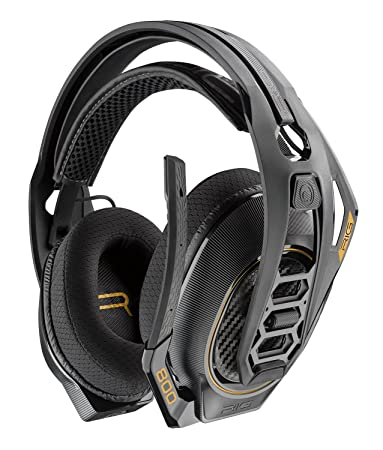 Amazon.com: Plantronics Gaming Headset, Rig 800hd Wireless ...
