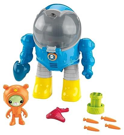 amazon com fisher price octonauts tweak s octo max suit toys games