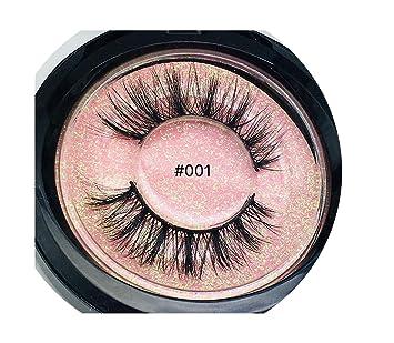 cf2e58e4ff1 Amazon.com : 50 pairs 3d mink lashes Handmade Eye Lashes Real Mink Makeup  Thick Fake False Eyelashes, color mixed : Beauty