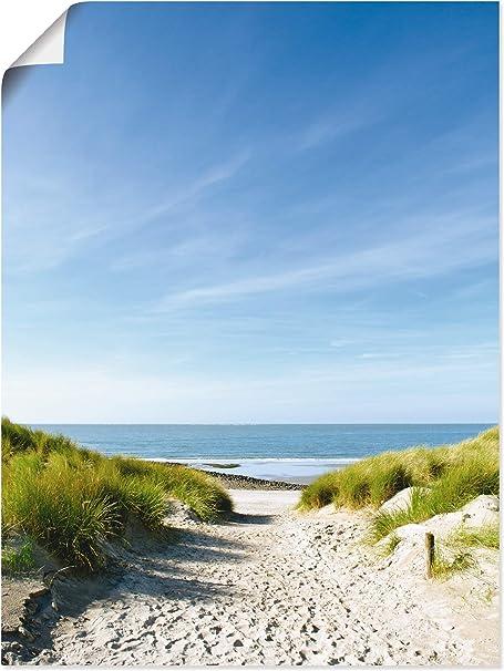 Leinwandbild Kunst-Druck 120x60 Bilder Landschaften Deep Strand