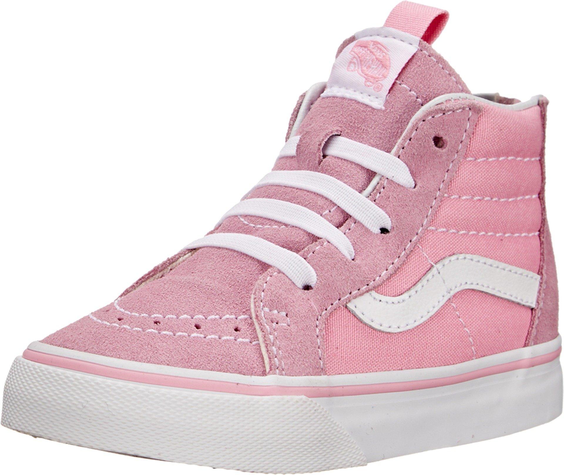 Vans Kids Sk8-Hi Zip Prism Pink/True