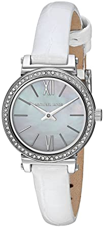 Amazon Com Michael Kors Women S Sofie Quartz Stainless Steel And
