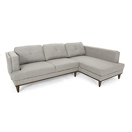 Amazon.com: Christopher Knight Home 306675 Gabe Sectional ...