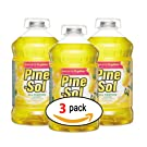 Clorox 35419 Pine-Sol Lemon Fresh All-Purpose Cleaner Bottle,144-Ounce (3-Pack)