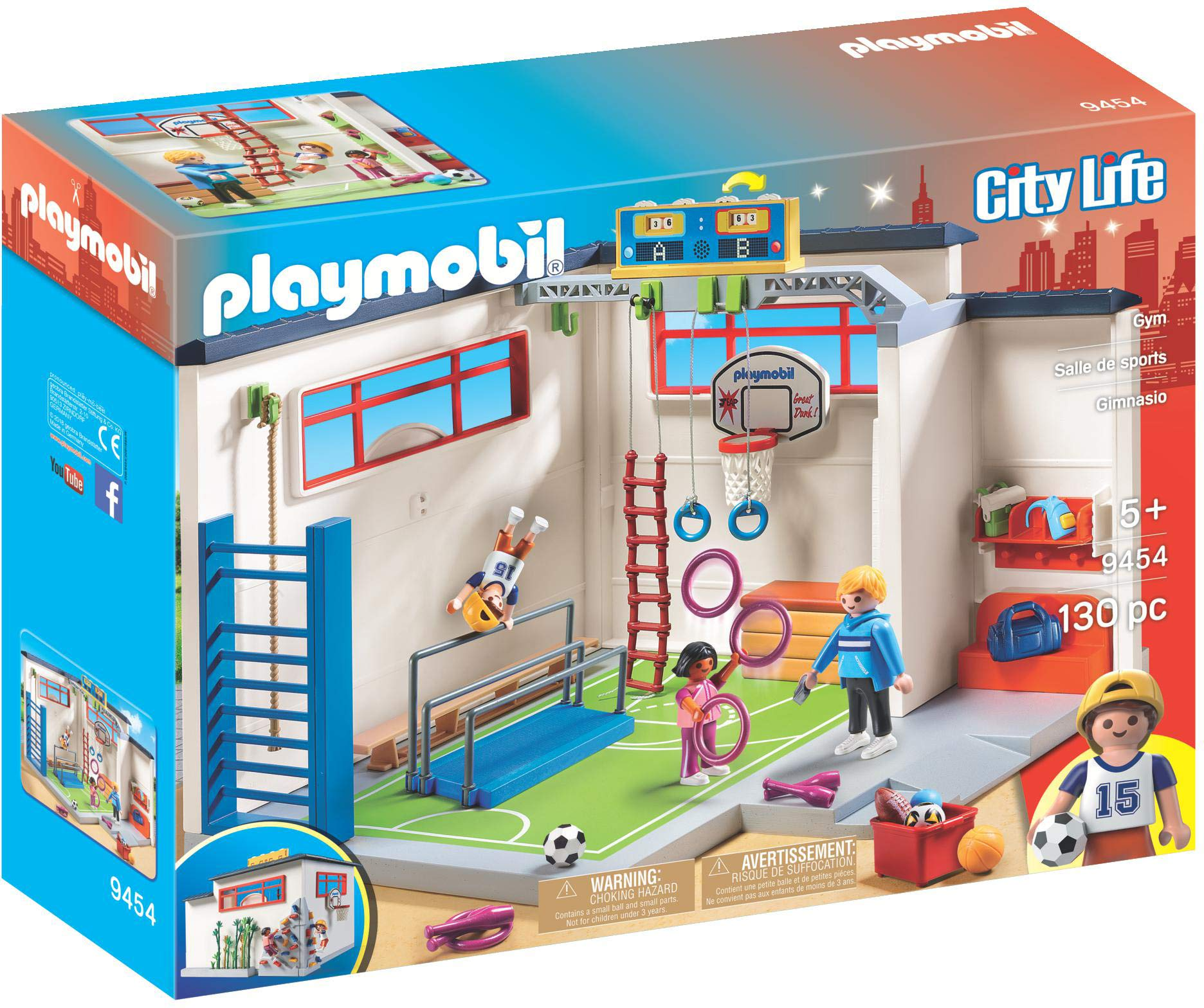 PLAYMOBIL® Gym Building Set