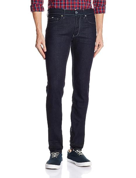 Anders K, Jeans para Hombre, Azul (Blu), (Talla del fabricante: 33) Gas