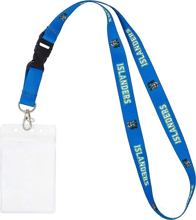 University of the Pacific NCAA Car Keys ID Badge Holder Lanyard Keychain Detachable Breakaway Snap Buckle