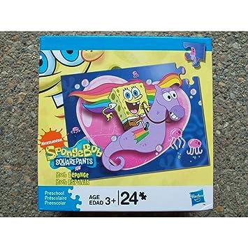 Amazon.com: Nickelodeon 24 Piece Puzzle - Spongebob Squarepants ...