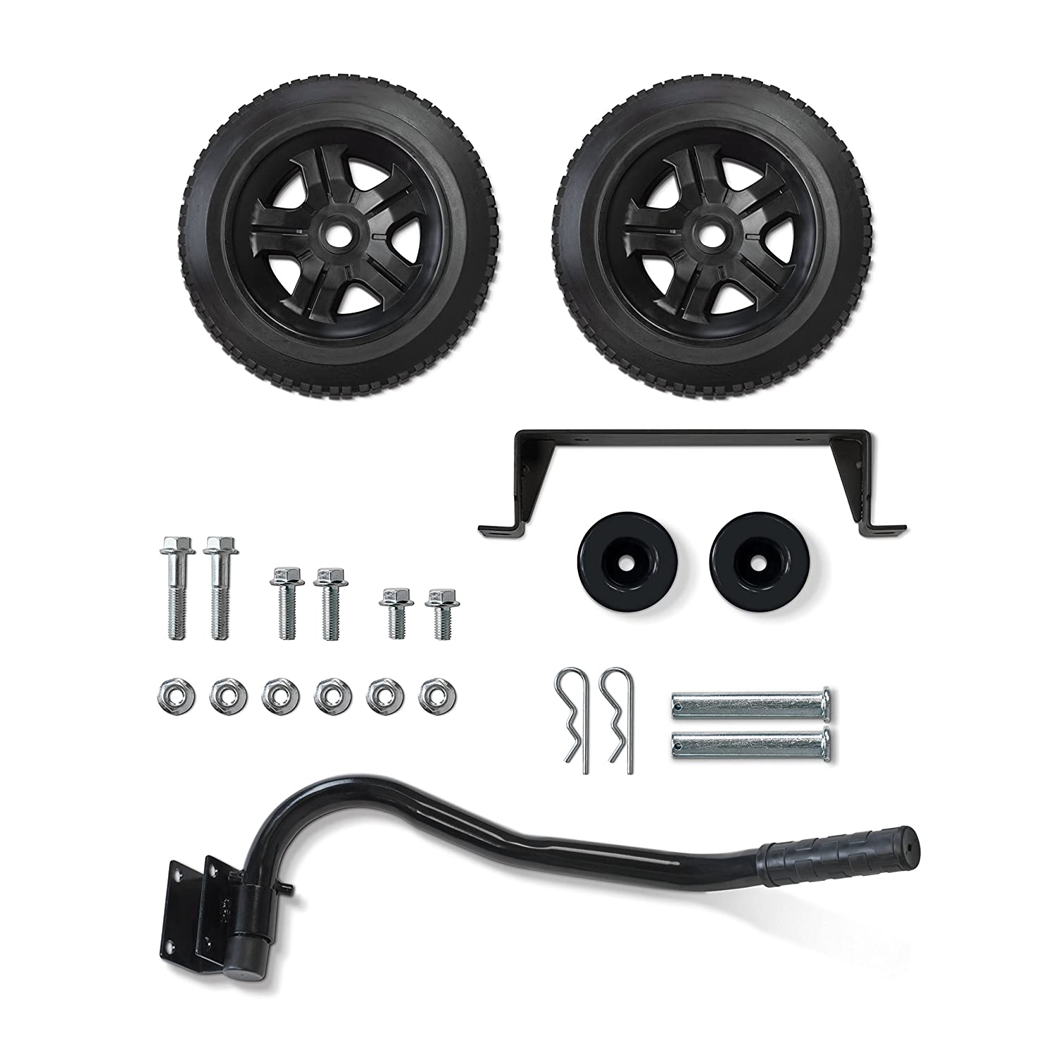 Champion Wheel Kit with Folding Handle and Never-Flat Tires for 2800 to 4750-Watt Generators