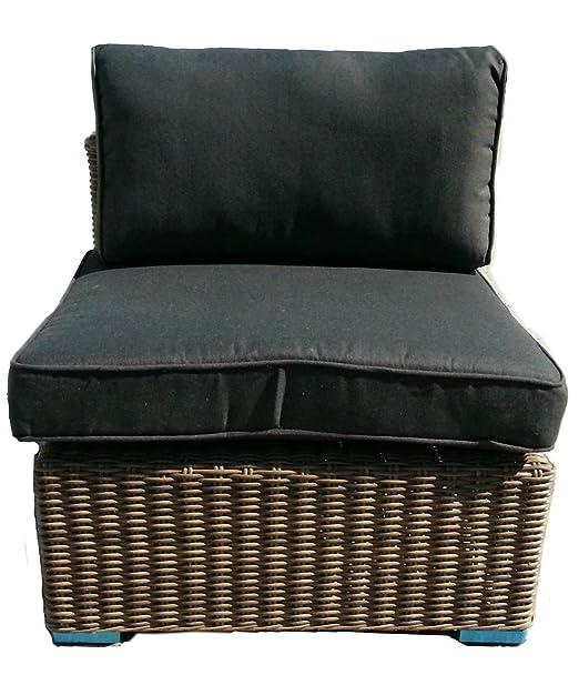 LuxuryGarden Part® salón sofá 2 plazas con sillones y mesa ...