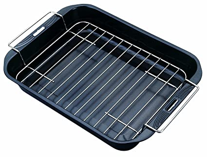 Amazon.com: Tescoma Saphir 38 x 28 cm Deep Bake and Roast Pan with ...
