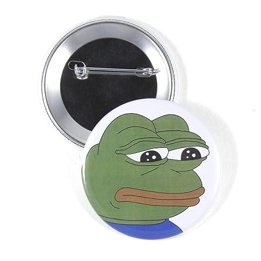 Amazoncom Instabuttons Sad Pepe The Frog 225 Pinback Button