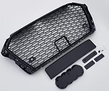 Honeycomb hex car grill grille with PDC for A3 8V by 1A Auto Style