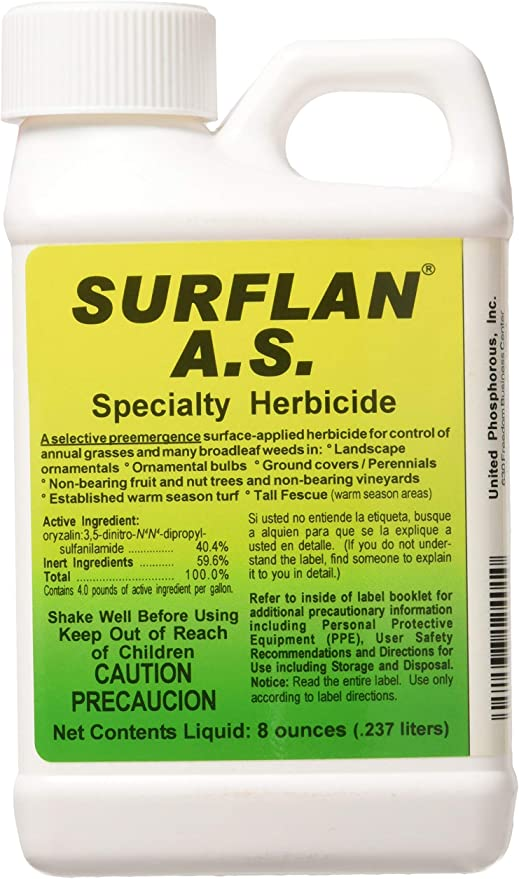 Amazon Com Southern Ag 12401 Surflan A S Pre Emergent Herbicide 8oz Fertilizers Garden Outdoor