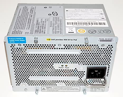 Amazon.com: HP 5400R 1100 W PoE + zl2 Power Supply: Electronics