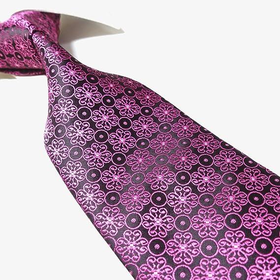 Towergem Extra Lange Mikrofaser Krawatte Lila Polyester XL M/änner Krawatte 63