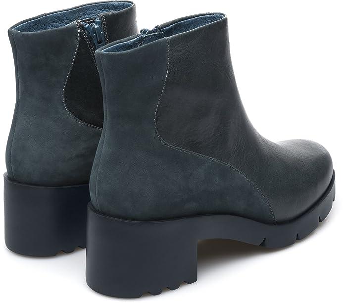 Amazon.com   Camper Wanda K400228-001 Ankle Boots Women Blue   Ankle & Bootie