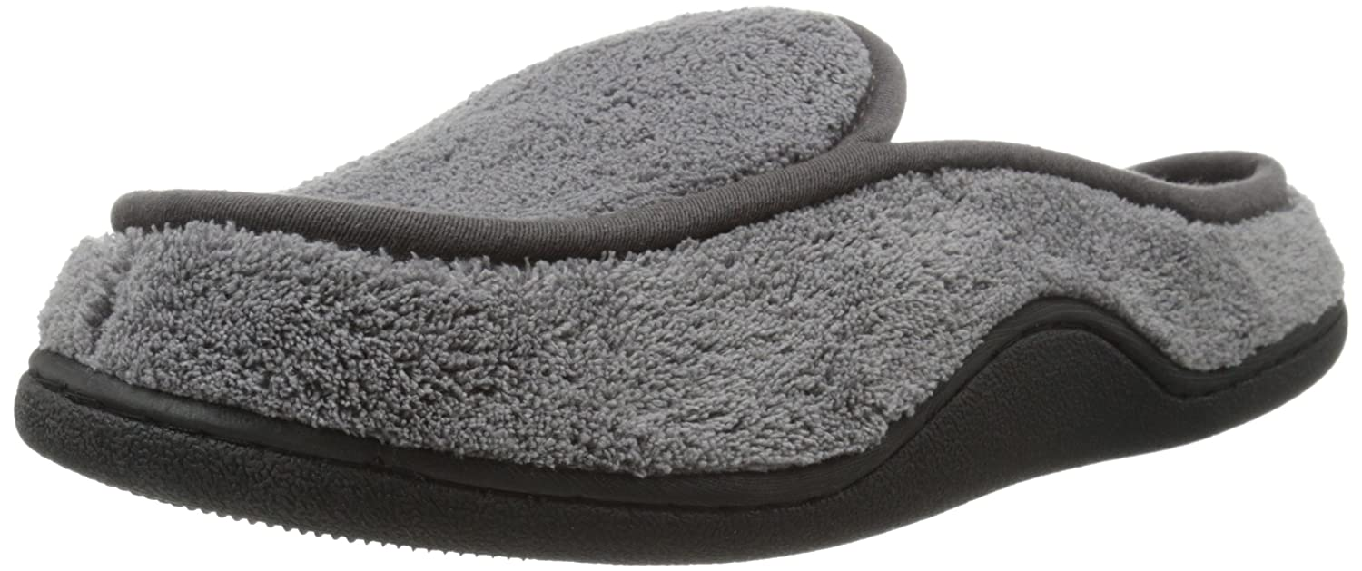 e92d19a3c7dc Isotoner Men s Microterry Clog Slippers