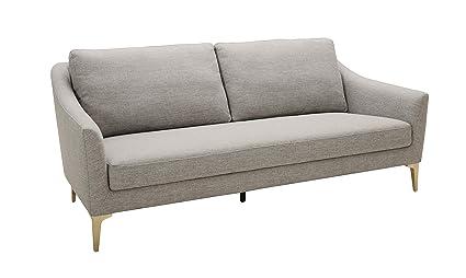 Amazon.com: Rivet Alonzo Colección de sofás de mediados de ...