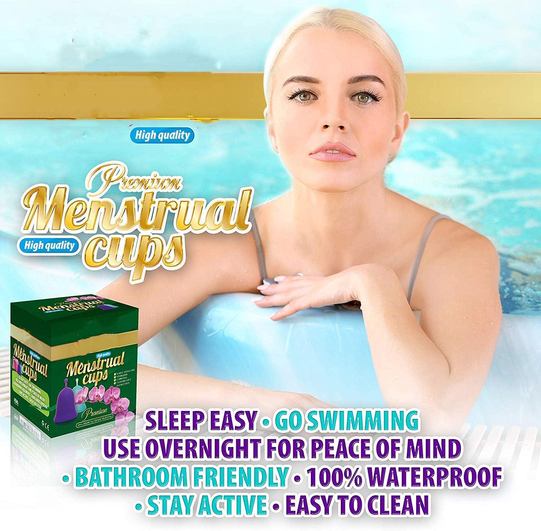 Copa Menstrual Plegable, Copa Menstrual Lily Cup Compact ...